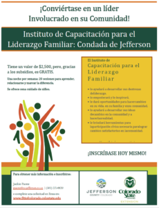 Image Flyer in Spanish